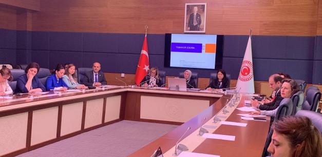 T.B.M.M Kadın Erkek Fırsat Eşitliği Komisyonu Toplantısına Katıldık.