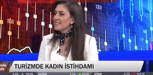 Merkez Müdürümüz Sn. Prof. Dr. Fatma AYANOĞLU ''Turizm Ekonomisi'' adlı programa katıldı.