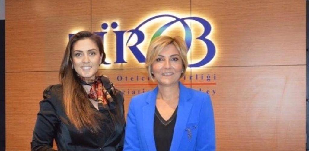 Merkez Müdürümüz Prof. Dr. Fatma Ayanoğlu, Türkiye Otelciler Birliği (TÜROB) Başkanı Sn. Müberra Eresin ile bir görüşme gerçekleştirdi.